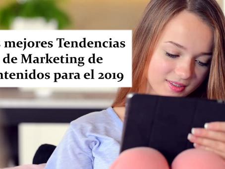 Las mejores Tendencias de Marketing de contenidos para el 2019