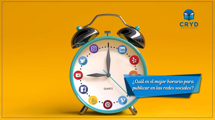 Cuál es el mejor horario para publicar en las redes sociales