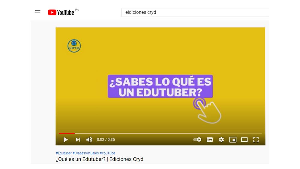 Ediciones Cryd - Hashtag y su importancia en las búsquedas de YouTube