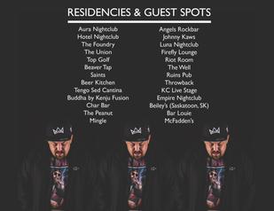 6. Tiberias Residencies & Guest Spots EP