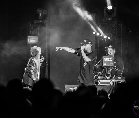 Ubi + Joey Cool + Tiberias The Orpheum Theater Madison, WI  Photo Credit Instagram: @bryanmccabephotography  Planet Tour Lineup  Tech N9ne w/ Krizz Kaliko Just Juice w/ DJ Raz Joey Cool w/ DJ Tiberias King Iso w/ King Kash & DJ Tiberias