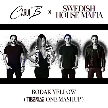 Cardi B x Swedish House Mafia w logo v.2