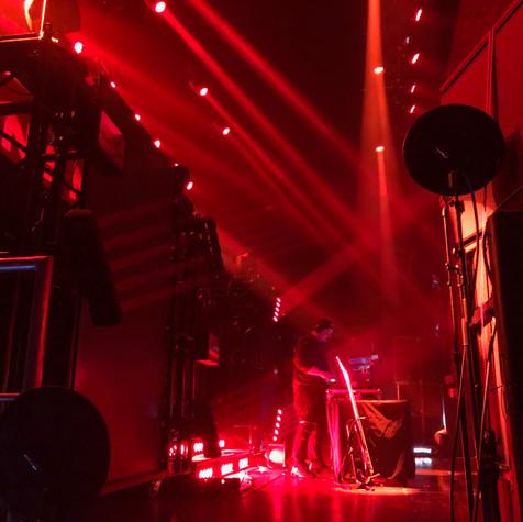 Tiberias Solo DJ Set The Belasco Los Angeles, CA  Photo Credit Instagram: @lifeofraz  Planet Tour Lineup  Tech N9ne w/ Krizz Kaliko Just Juice w/ DJ Raz Mackenzie Nicole Joey Cool w/ DJ Tiberias King Iso w/ King Kash & DJ Tiberias