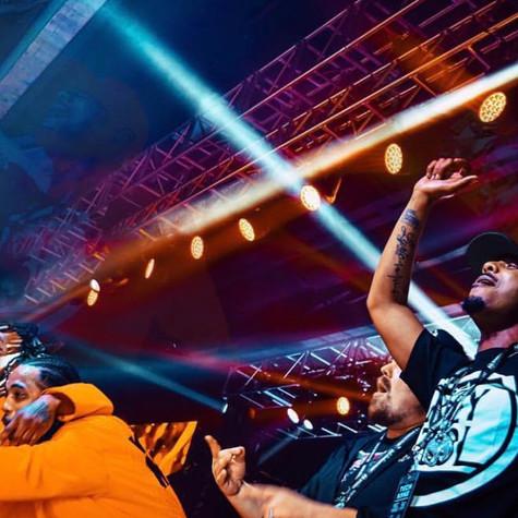 Hood Going Crazy Vinyl Music Hall Pensacola, FL  Planet Tour Lineup  Tech N9ne w/ Krizz Kaliko Just Juice w/ DJ Raz Joey Cool w/ DJ Tiberias King Iso w/ King Kash & DJ Tiberias