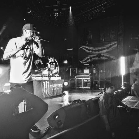Joey Cool + Tiberias House of Blues Chicago, IL  Photo Credit Instagram: @kflowers313  Planet Tour Lineup  Tech N9ne w/ Krizz Kaliko Just Juice w/ DJ Raz Mackenzie Nicole Joey Cool w/ DJ Tiberias King Iso w/ King Kash & DJ Tiberias