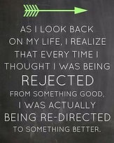 Redirected to something better. A New Direction.
