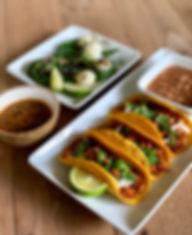 Vegan tacos vegetarian tacos