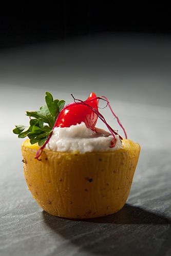 MinaKouk Pomme de terre farcie