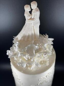 Wedding cake détail