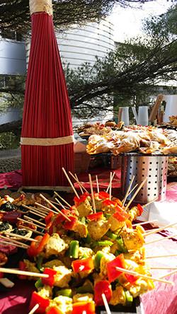 Buffet extérieur MinaKouk Aubagne