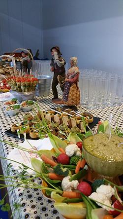 Traiteur MinaKouk buffet provencal