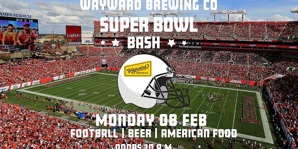 Wayward Super Bowl Bash