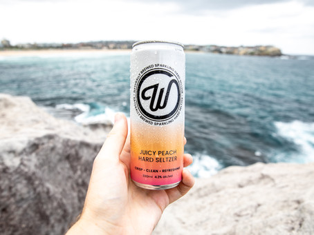 BRING BACK SUMMER WITH JUICY PEACH — THE LATEST W SELTZER FLAVOUR