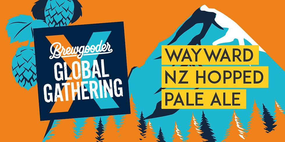 WAYWARD X BREWGOODER NZ HOPPED PALE ALE LAUNCH