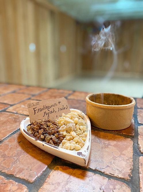 Frankincense + Myrrh Resin
