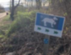 piermont dog run entrance