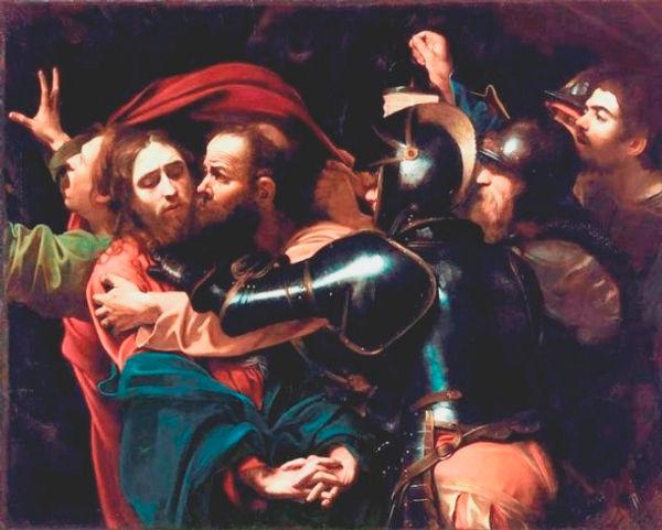 The-Betrayal-of-Jesus-by-Judas-Caravaggi