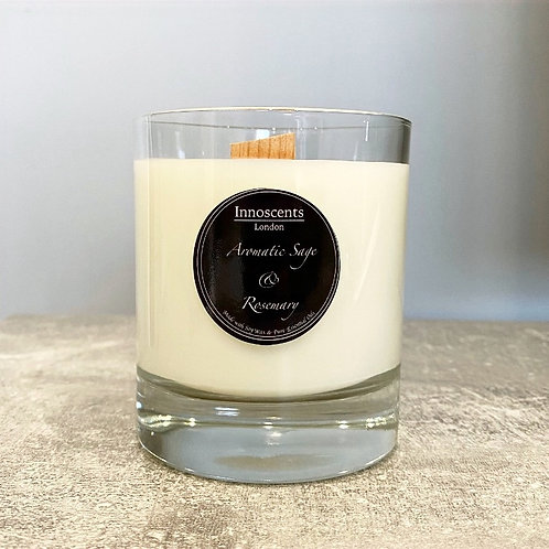 Aromatic Sage & Rosemary Candle
