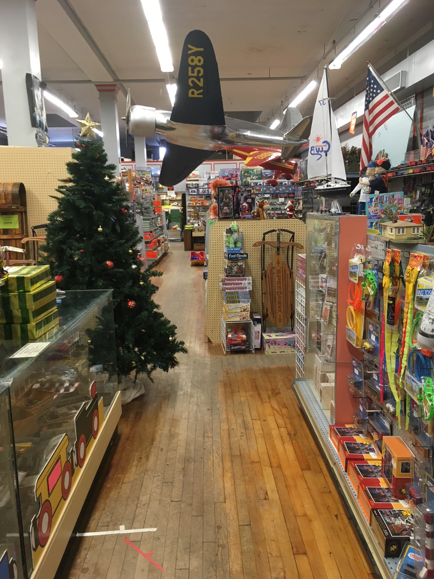 A Very Merry Toy Store