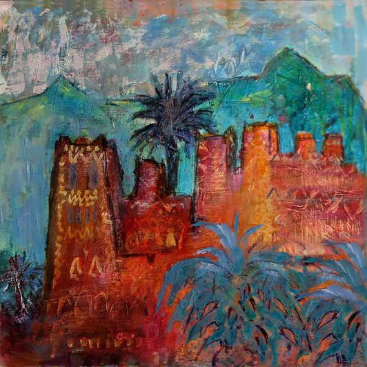 Kasbah in Dadnes