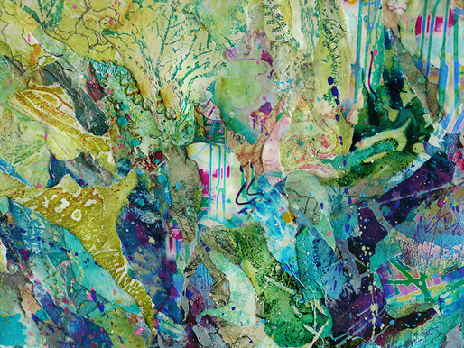 Collage Materials:  Collagraphs