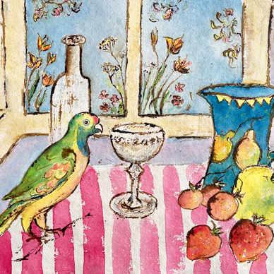 Parrot and Still Life