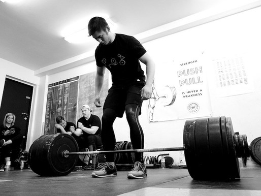 A REINTRODUCTION TO STRENGTH TRAINING, during covid-19 chaos