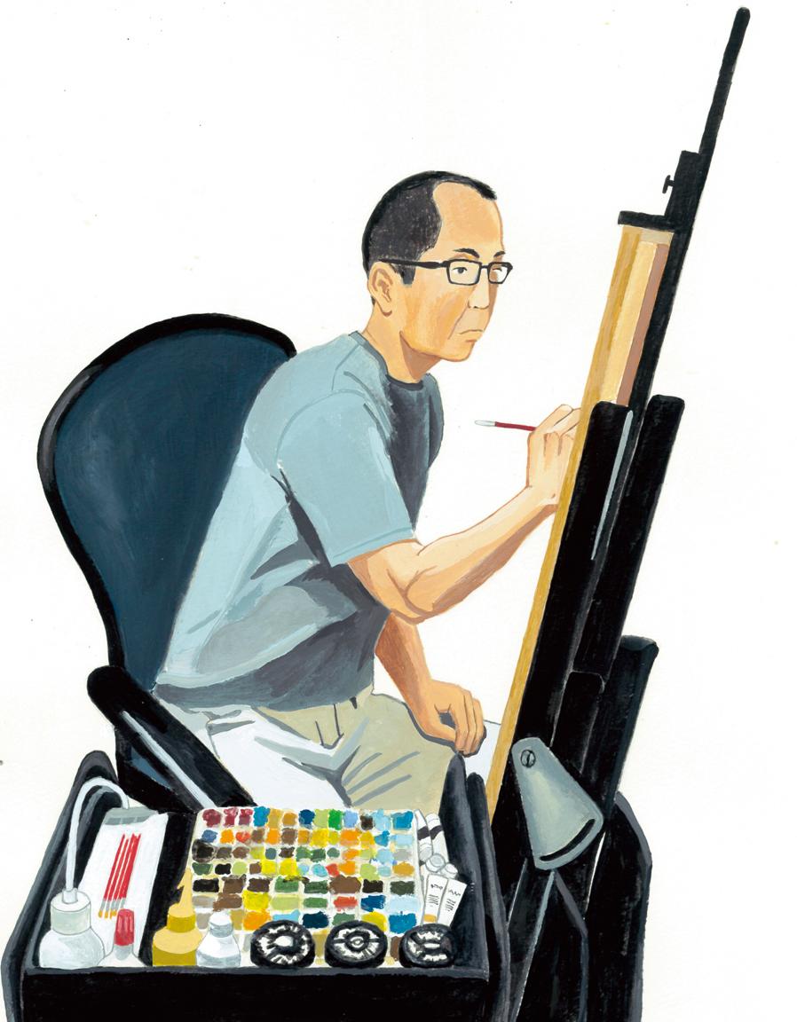 イラストレータ― 山田博之さん