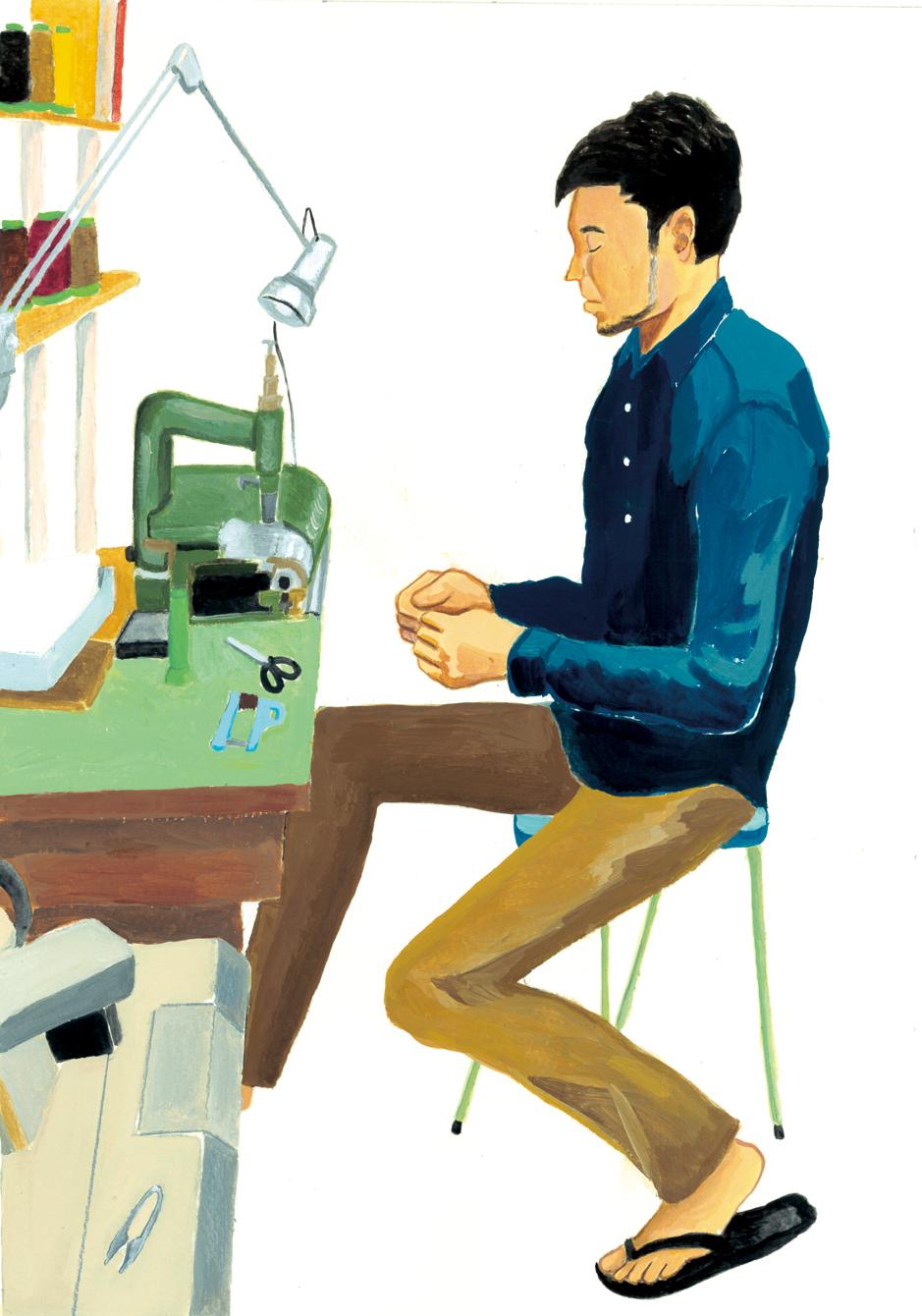 革製品ブランド エムピウ 村上雄一郎さん(東京都/蔵前)