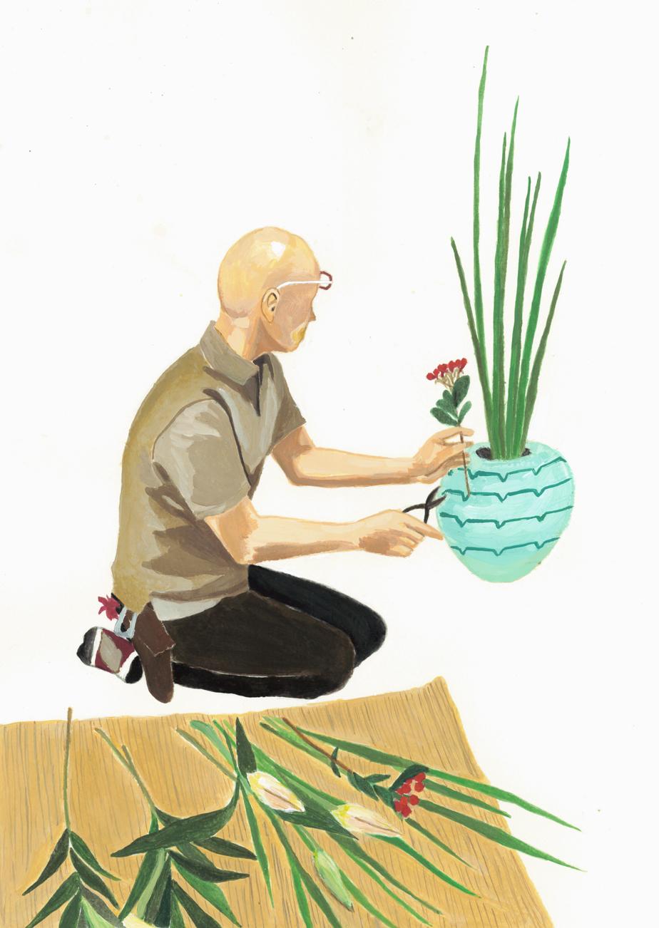 花のスタイリスト 岸勝人さん(京都府)