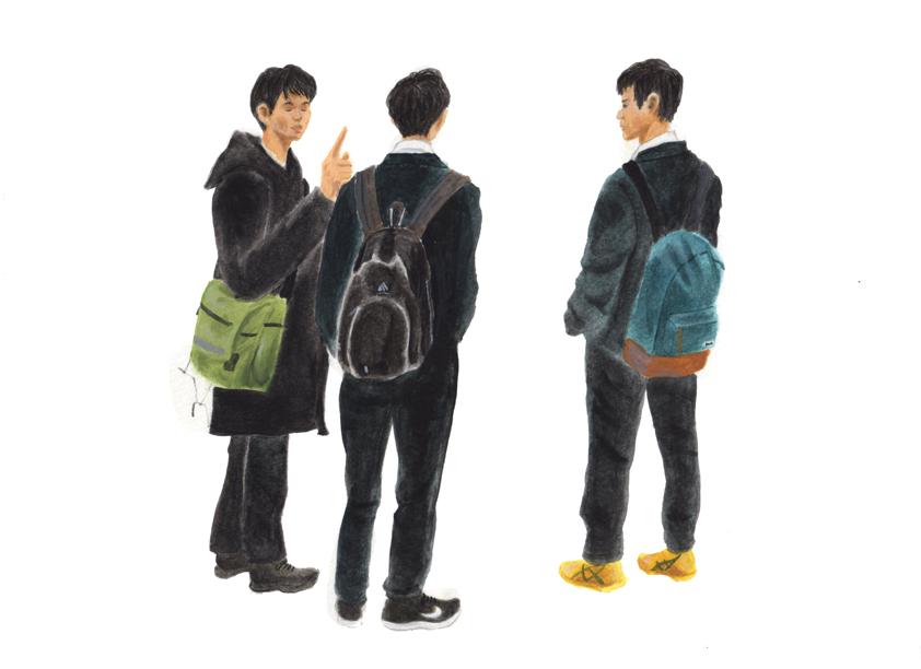 中学生男子の放課後