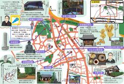 東京新聞11月23日発行マップ