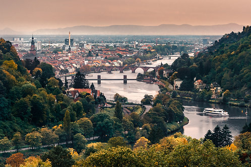 "Heidelberg ""Stiftblick im Herbst"""