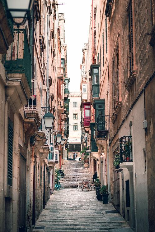 """Malta """"Streets of Valetta"""""""