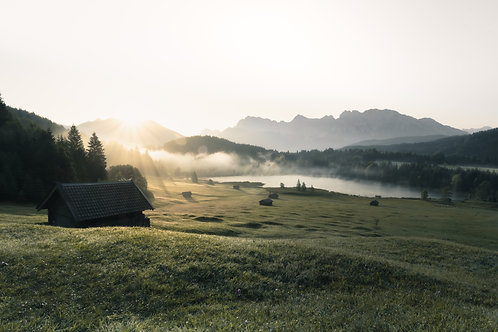 """Sunrise """"Geroldsee"""""""