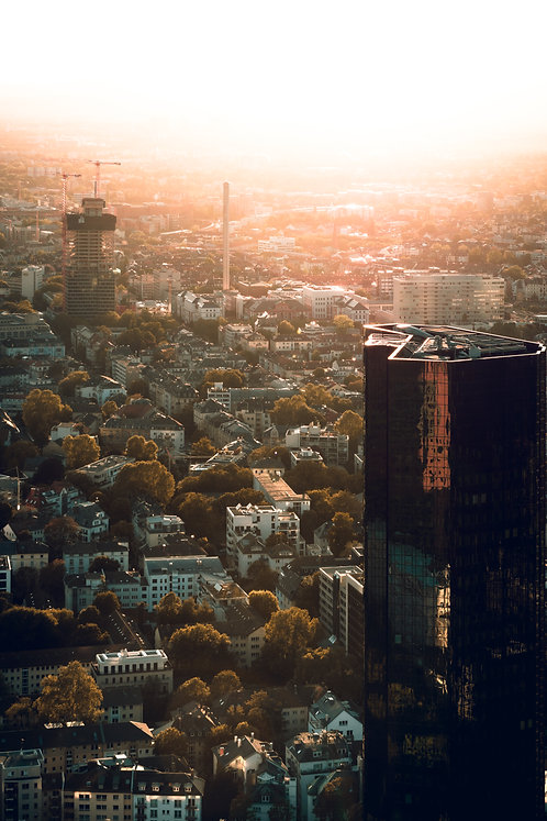 "Sunset ""Frankfurt"""