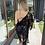 Thumbnail: Kimono de encaje negro