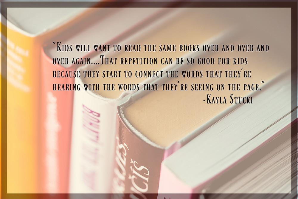 Kayla Stucki on Read With You Presents