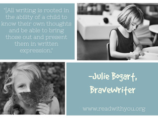 Julie Bogart on Read With You Presents Part Two