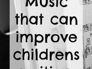 Insights from Music that can Improve Children's Writing
