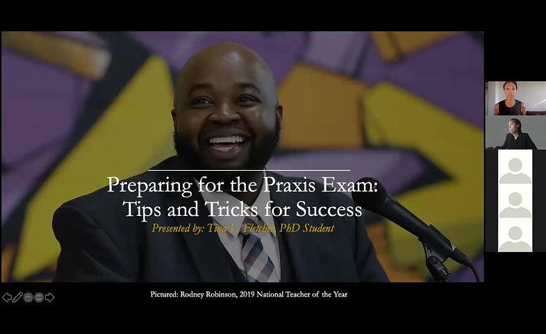 Passing the Praxis Webinar