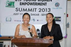 Women's Summit in Dakar, Senegal