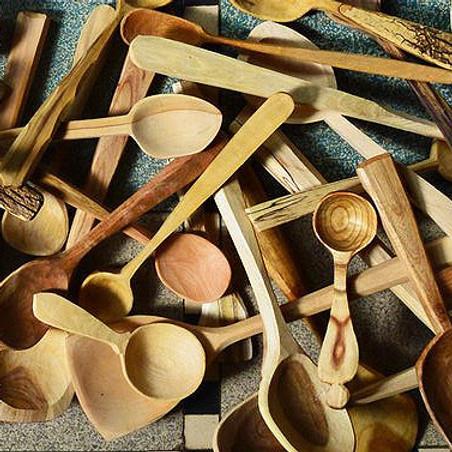 Lepelsnijden - workshop met vers hout van het Lepelhuis