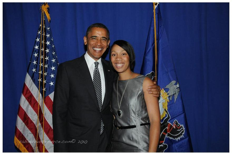 Tina and POTUS