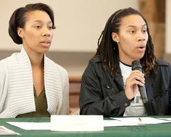 Trina speak at Ward 8 Dems Meeting