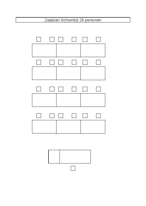 Zaalplan Schoolstijl 24 personen-page-00