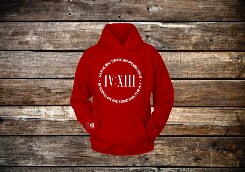 413 Scripture Hooded Sweatshirt