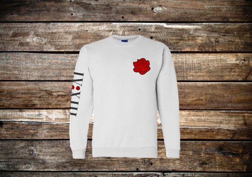 Roses Crewneck Sweatshirt