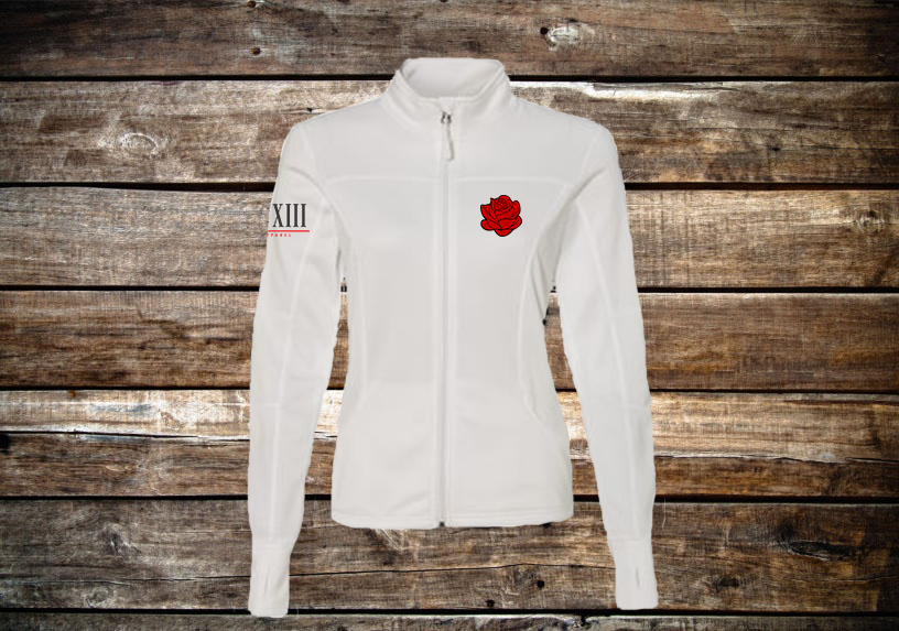 Ladies's Poly-Tech Full-Zip Track Jacket