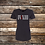 Thumbnail: IV XIII Rose Ladies Fitted T Shirt